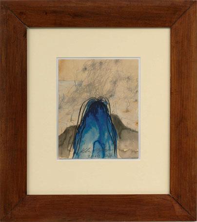 'De achterkant van de schilder'