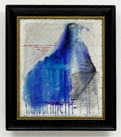 Nr 884, 2004/2009, 'Blauw onderkomen'